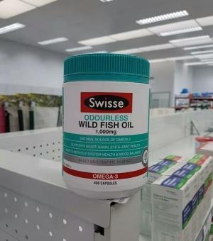 Swisse Ultiboost Odourless Wild Fish Oil 1000mg ey Benefits